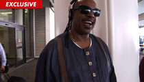 Stevie Wonder Fires TMZ Photog -- You BUTCHERED My Song!
