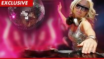 Paris Hilton -- Training to Become Most Powerful House DJ EVER!!!