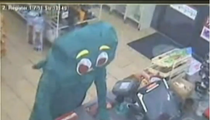 Gumby Tries to ROB Convenience Store [VIDEO]