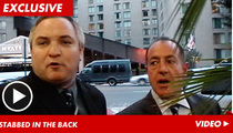 """Tareq Comforted by Michael Lohan:  'I've Been Betrayed!"""""""