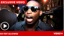 Tinie Tempah -- I'll NEVER Wear My $37,500 Marty McFly Shoes!