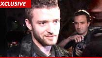 Justin Timberlake:  Not My Penis!