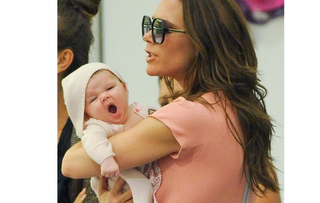 Victoria Beckham & Baby Harper's Shopping Spree