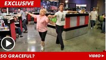 Nancy Grace -- RUMPSHAKIN' in the TMZ Ballroom!!