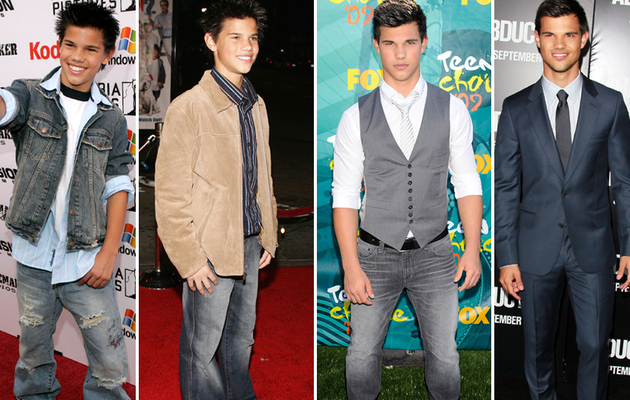 Taylor Lautner Through The Years -- See His Transformation!