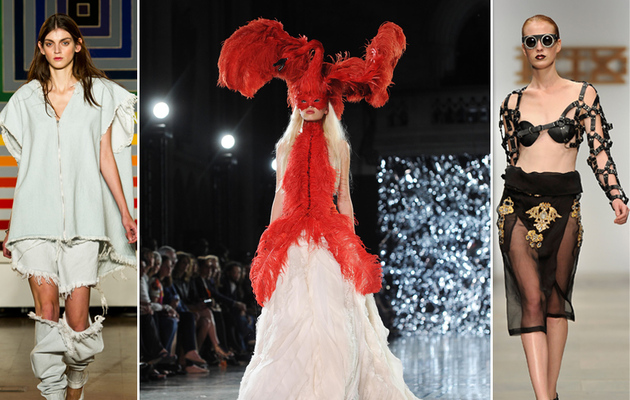 Freakshow Or Fashion Scary Styles At Paris Fashion Week