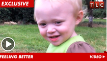 '19 Kids & Counting' Baby -- Laughing & Playing After Holy Land Health Scare