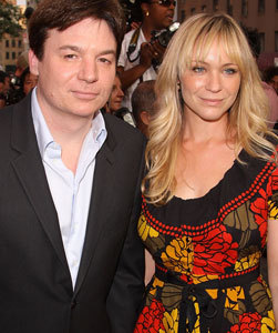 Mike Myers & Wife Welcome First Son