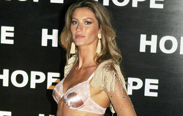 Gisele Bundchen Under Fire for Sexy Underwear Ad