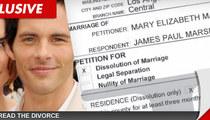 'X-Men' Star James Marsden's Wife Files for Divorce