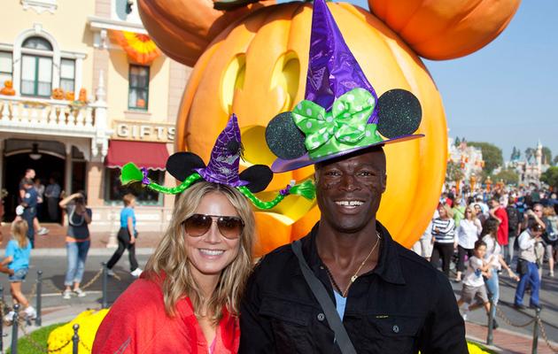 Heidi Klum and Seal Get Goofy With Their Kids at Disneyland!