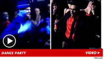 Michael Jackson -- EPIC DANCE-OFF at Cirque After-Party