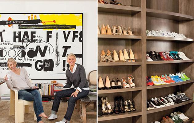 Inside Ellen DeGeneres & Portia de Rossi's Home