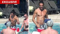 Joakim Noah, Chicago Bulls Star -- Beer Pongin' During NBA Lockout