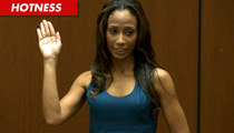 Nicole Alvarez, Dr. Murray's Baby Mama -- I'm Ready for My Close-Up!!!!