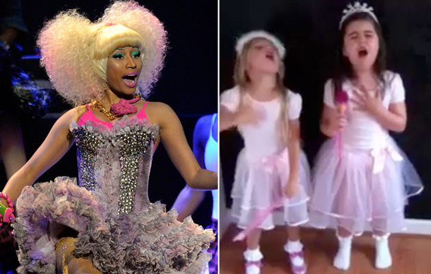 Must Watch Video: Little Girl Raps Nicki Minaj