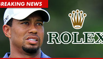 Tiger Woods -- I Just Inked a Deal with ROLEX!