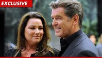 Pierce Brosnan's Wife -- Carrot Cake Screwed Me Up Bad!