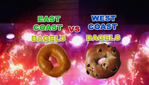 The Great Bagel War -- East Coast vs. West Coast