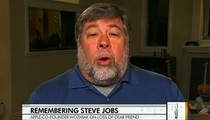 Steve Wozniak -- STUNNED By Steve Jobs' Death
