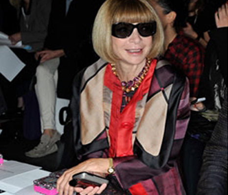 Anna Wintour ... Same Shoe, Different Day!