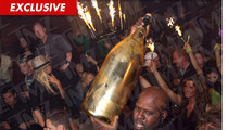 Zac Efron -- Nearly DROPPED $100K Gift Bottle of Champagne