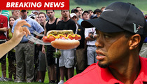 Tiger Woods -- Attacked with Flying Hot Dog