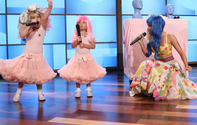 "Nicki Minaj Surprises Young ""Super Bass"" YouTube Stars"