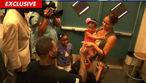 The Game Proposes to Baby Mama ... ON TAPE