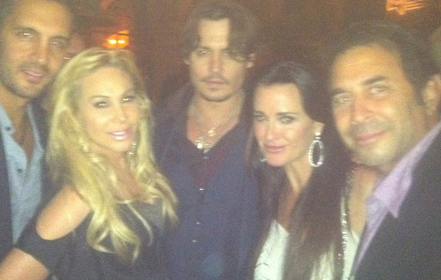 "The ""Real Housewives of Beverly Hills"" Meet Johnny Depp!"