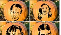 Celebrity Pumpkin Stencils -- Cut It Out!