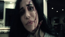 Octomom Film Debut -- Takes Knife to Throat