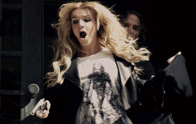 "Britney Spears Mixes Sex & Violence in ""Criminal"" Music Video"