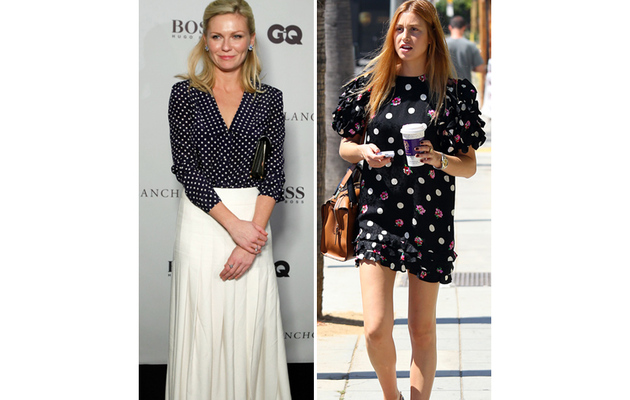 7 Days, 7 Ways: How Celebs Style Up Their Polka Dots