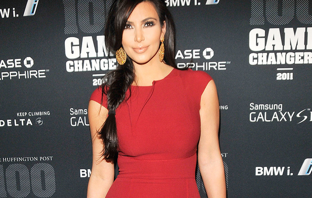 Kim Kardashian: Red Hot at Game Changer Event