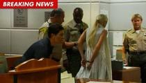 Lindsay Lohan -- Probation Revoked, Handcuffed
