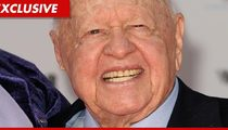 Mickey Rooney Slammed By Former Asst. -- 'Gruff, Hostile, and Rude'