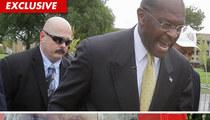 Oksana's Former Bodyguard -- Now Protecting Herman Cain