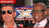 Simon Cowell --  Targeted in 'X Factor' Sabotage Plot