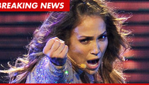 Jennifer Lopez -- Breaks Down In Tears During Concert