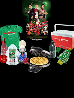 """Giveaway: Win a """"A Very Harold and Kumar 3D Christmas"""" Prize Pack"""