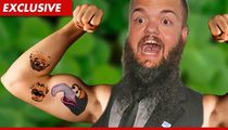 WWE Star Hornswoggle -- My Bloody Tribute to Fozzie Bear