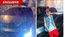 Justin Bieber -- Pulled Over By Cops in NASTY Batman Cadillac
