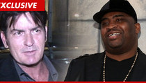 Charlie Sheen -- My Thoughts Are With Patrice O'Neal