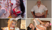 TMZ's Sexy Halloween Costume Contest -- Heart-Pounding!