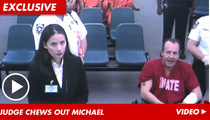 Michael Lohan in Court -- Lots of Crying, Yelling
