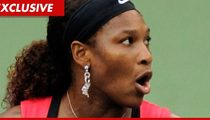 Serena Williams -- Locked in Panic Room Over Drug Test Mix-Up