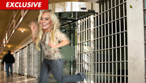 Lindsay Lohan Will Get Out of Jail In Minutes