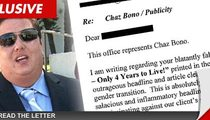 Chaz Bono -- The Report of My Death Is Greatly Exaggerated