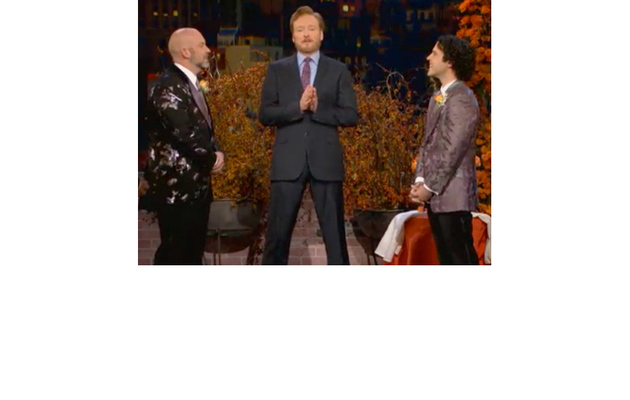Video: Conan O'Brien Officiates Gay Wedding